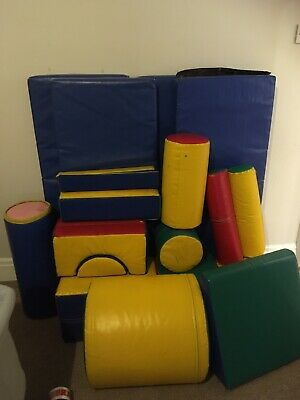 Robust Soft Play Equipment Used • 250£