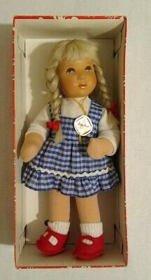Vintage Kathe Kruse Puppen Beautiful Blonde Little Girl Doll In Original Box Vgc • 100£