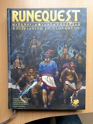 RuneQuest RPG Roleplaying In Glorantha - Core Rulebook - From Chaosium • 25£