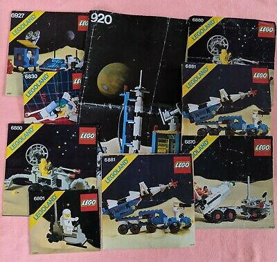 Vintage Lego Instructions Only – Space Theme Includes 920 Rocket Launcher • 5.56£