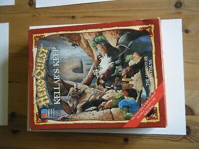 HEROQUEST Kellars Keep – Complete And Great Condition; Never Used And Boxed. • 25£