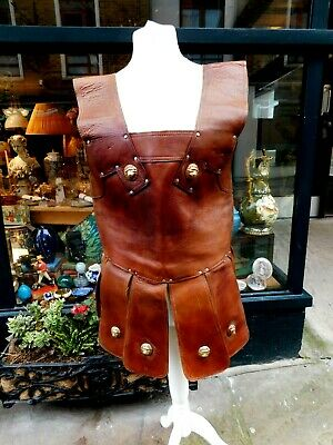 Medieval Leather Cuirass / Studded / Full Body Armour / LARP / Cosplay / Costume • 69.99£