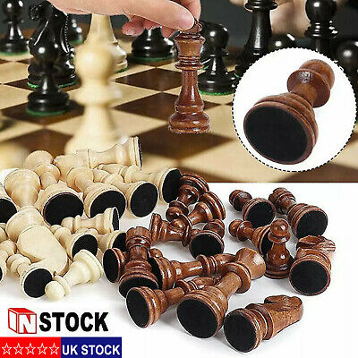 3in1 Wooden Folding Board Game Set Pieces Travel Games Chess Draughts Backgammon • 15.69£