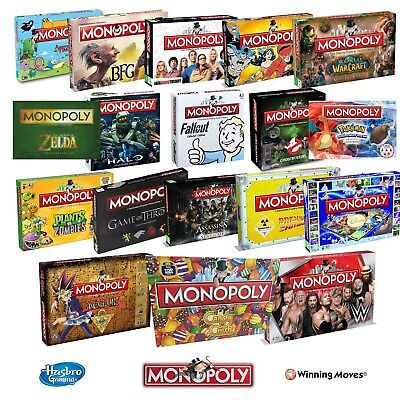 New! Monopoly Collectors Special Edition Board Game 28 Options To Choose!  • 22.47£