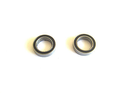 BAJA SS/5B/5T DIFF CASE  BALL BEARINGS 10 X 15 X 4mm (2pcs) , B030 • 3.50£