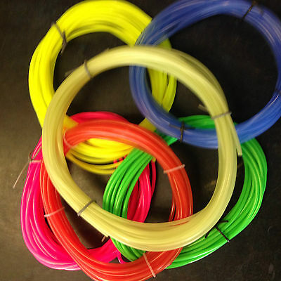 Silicone Fuel Tube- For Glow Motors 3/32 (2.3mm) ID For Upto 120 Size 5m Lengths • 7.50£