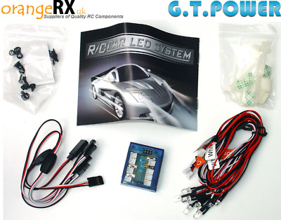 Smart LED Lighting System For RC Cars Buggies Trucks - GT Power LED Turn Signals • 19.99£