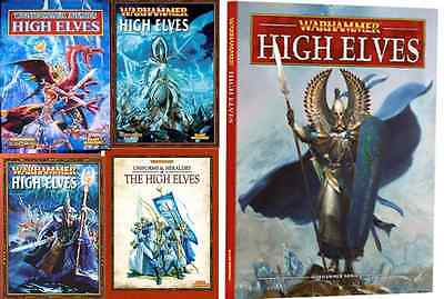 High Elves Army Books,  Warhammer Fantasy Battles, Various Select • 27.50£