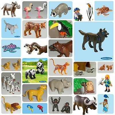 * Playmobil ANIMALS * ZOO / SAFARI / CIRCUS / PETTING ZOO / NOAH'S ARK * • 2.99£