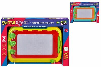 Kids Drawing Board Writing Sketch Pad Erasable Magnetic Doodle Toy Gifts New • 7.95£
