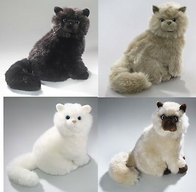 New Plush Cuddly Critters Sitting Persian Cat Soft Toy Kitten Teddy Assorted  • 14.99£