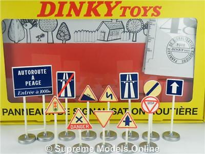 Dinky Toys Road Sign Giftset 1:43 Size 593 Atlas Motorway Display Layout T3z • 17.99£
