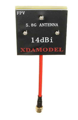 5.8GHz 14dBi Flat Panel / Patch FPV Antenna Ariel SMA By XDAMODEL OrangeRX -UK • 14.99£