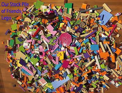LEGO Friends - 500g Of Bricks Plates Parts 1/2 KG Bundle - Free TRACKED Postage • 21.99£