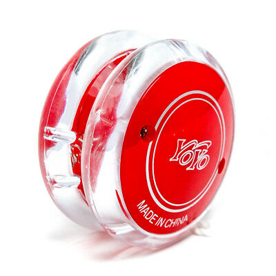 Trick Radical Pro Yo Yo Clutch Mechanism Toy Super Speed LED Black Red • 2.59£