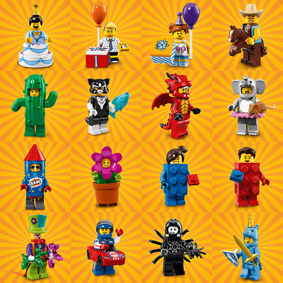 Lego Series 18 Minifigures - Choose Your RE SEALED Party Mascot CMF Figure 71021 • 19.99£