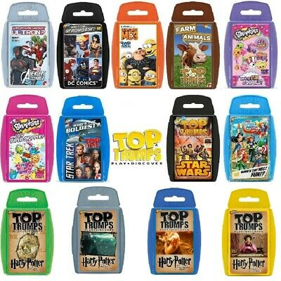 Top Trumps Large Range Card Games New Releases Play And Discover • 4.59£