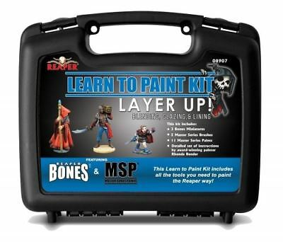 Reaper Miniatures Learn To Paint Kit - Layer Up ! • 34.98£