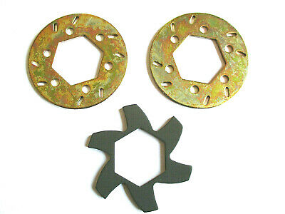Baja Brake Disc Rotors And Fin Plate,  Compatible With Hpi Baja 5b/ss • 7.75£
