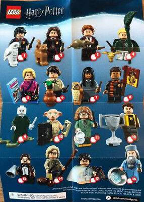 LEGO Harry Potter Series 1 Minifigures Choose A NEW RE SEALED CMF 71022 Set • 24.99£
