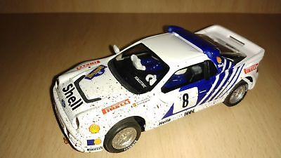 Scalextric Ford Rs 200 Mud Effect Swedish Rally 1986 Altaya Collection • 25£