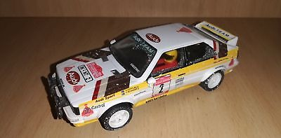 Scalextric Audi Quattro Snow Effect Altaya Rallys Miticos Collection • 30£