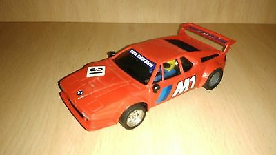 Scalextric Exin Bmw M1 · 4063 1982  Year Original  Red Color • 50£