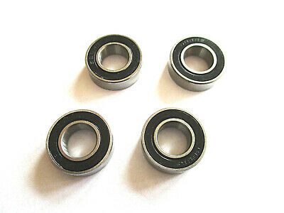 Rubber Seal Bearings 8 X 16 X 5 Mm  (4 Pcs)   Ref. Hpi B085 • 5.99£