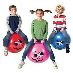Toy - Junior Space Hopper In Red, Blue Or Pink • 6.94£