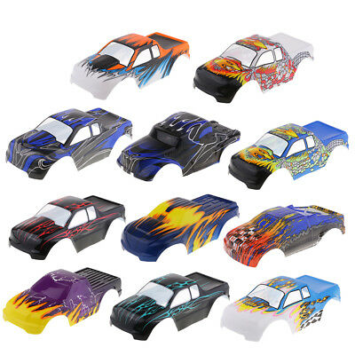 RC Body Shell Bodywork For HSP 94188 94111 94108 1/10 Monster Truck Parts • 13.79£