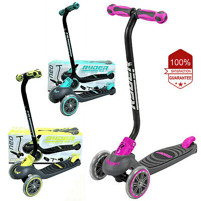 Scooters For Kids Boys Girls 3 Wheels Push Kick Ride Skate Wheel Skateboard  • 21.99£