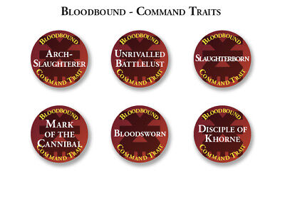 Blades Of Khorne Abilities, Traits & Artefact Tokens Warhammer Age Of Sigmar • 27£