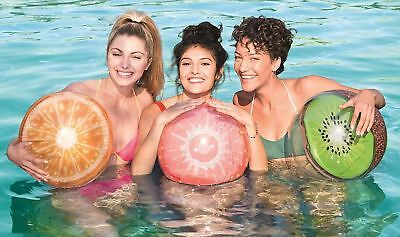 Bestway Inflatable Fruit Beach Ball Summer Holidays Swimming Pool 18  (46cm) • 4.99£