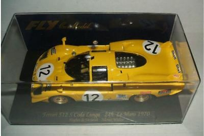 Scalextric Fly FERRARI 512 S   Le Mans 1970 #-88005 • 85£