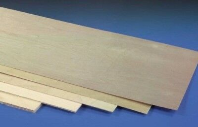 Plywood Sheets  900 & 1200 X .8,1.5,3,4,6,9mm(1/32,1/16,5/32,1/8,3/16/1/4 & 3/8) • 7.25£