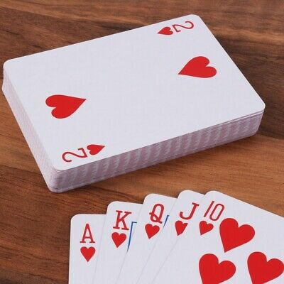 SECURITY SEALED ORIGINAL PLAYING CARDS Plastic Coated Poker Casino Quality Deck • 3.35£
