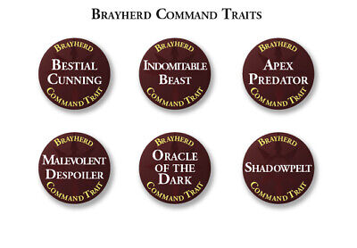 Beasts Of Chaos Abilities, Traits & Artefact Tokens Warhammer Age Of Sigmar • 29.25£