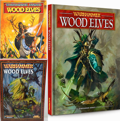 Wood Elves Army Books,  Warhammer Fantasy Battles, Various Select • 22.68£