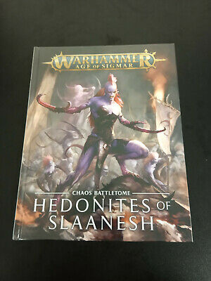 Warhammer Age Of Sigmar Hedonites Of Slaanesh Chaos Battletome - New And Sealed • 19.95£