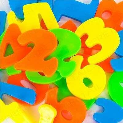 52x MAGNETIC FRIDGE NUMBERS SET Childrens Fun Learning/Teaching Maths & Symbols • 5.37£