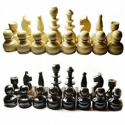 Wooden Figures For Chess 90 Mm.  !!! Free Shipping !!! • 39£