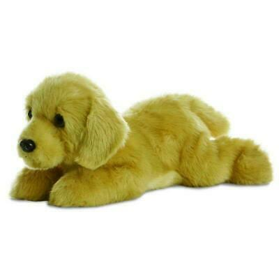 Aurora Flopsies - Golden Labrador Dog Soft Toy 30cm • 15.66£