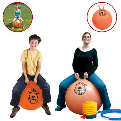 Retro Space Hopper Toy Large Ball Adult Kids Bounce 60cm / 80cm • 8.56£