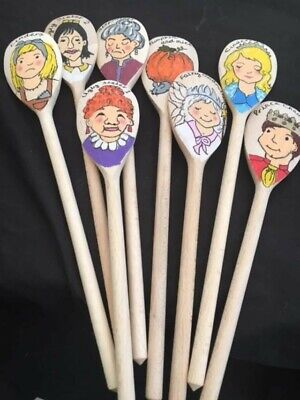 Hand Made Story Spoon Set  For  Cinderella 8 Spoon Set. Brand New • 24£
