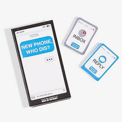 New Phone, Who Dis? Adult Game - From The Creators Of What Do You Meme? • 21.57£