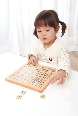 LELIN Wooden Hundred Board Game  - 1 To 100 Consecutive Numbers Montessori Maths • 7.99£