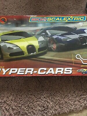 Micro Scalextric Hyper Cars • 25£