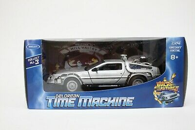 Welly DeLorean DMC 12 From Back To The Future Part 2 In Silver 1:24 Scale BNIB • 20.89£