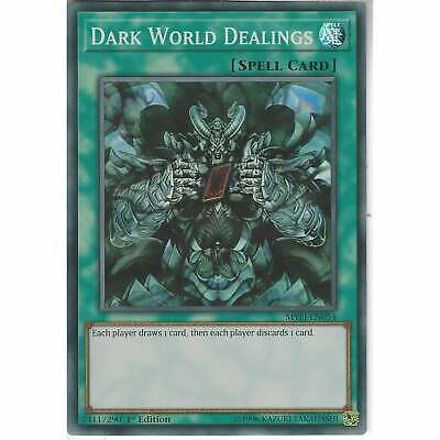 MYFI-EN054 Dark World Dealings | 1st Edition Super Rare YuGiOh Trading Card Game • 1.30£
