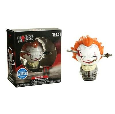 Funko Dorbz IT 474 Pennywise With Wrought Iron Limited Edition Pop Culture • 8.69£